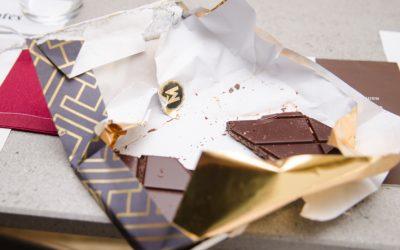 El porcentaje en el chocolate