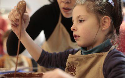 Taller de tabletas de chocolate para niños y sus papas 08 de diciembre