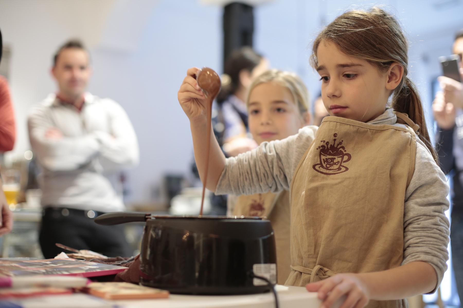 Curso de Chocolate para niños