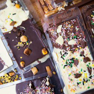 curso de tabletas de chocolate para niños