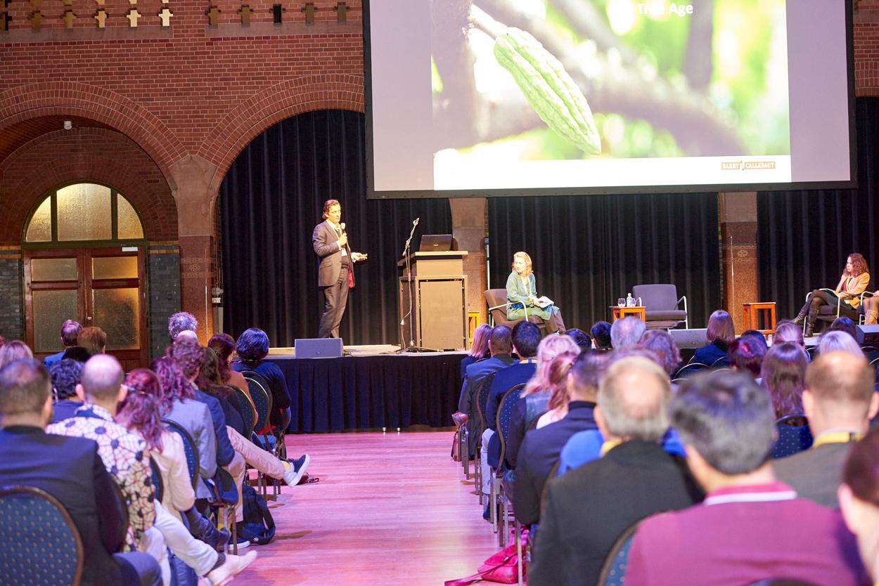 La Conferencia es el evento más importante de Chocoa 2018 allí se discutirán temas como sostenibilidad, nuevas legislación y tendencias del mercado europeo