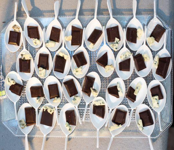 Maridaje de chocolate y quesos