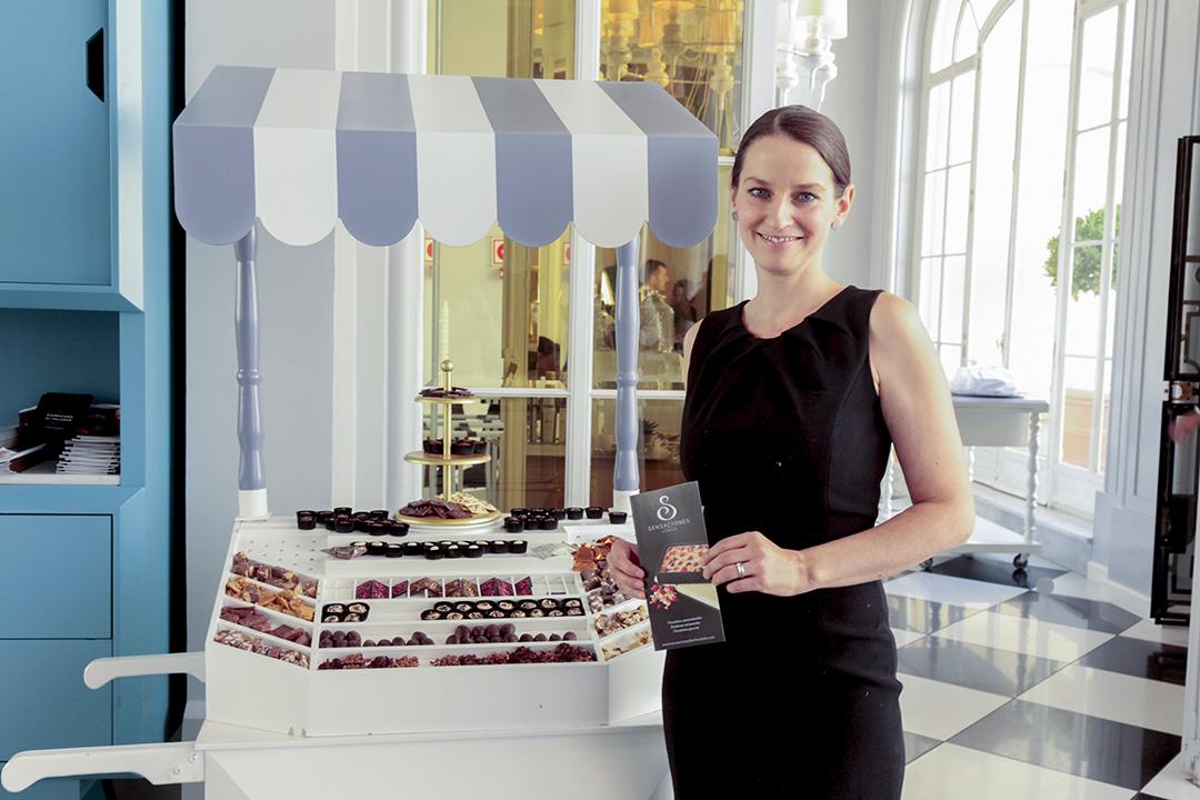 Conferencias en el Salón del Chocolate de Madrid de 2018: Annelie Geimer