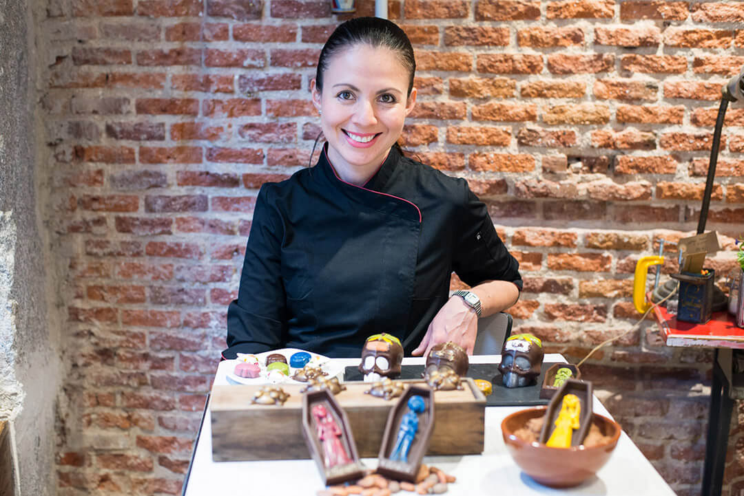Conferencias en el Salón del Chocolate de Madrid de 2018: Elizabeth Velázquez