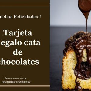 Tarjeta Regalo Cata de Chocolates