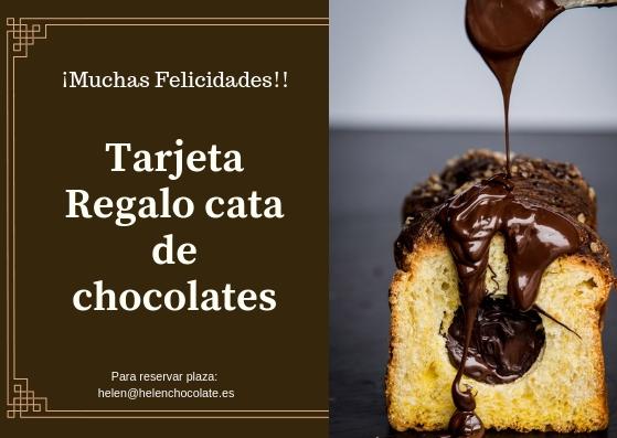 Tarjeta Regalo Cata de Chocolates en Madrid
