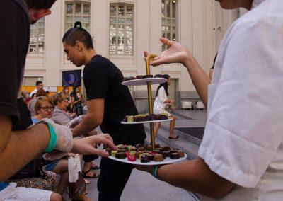 actividades del salón del chocolate bombones vivian