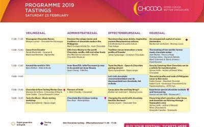 Programa del Festival de Chocoa 2019