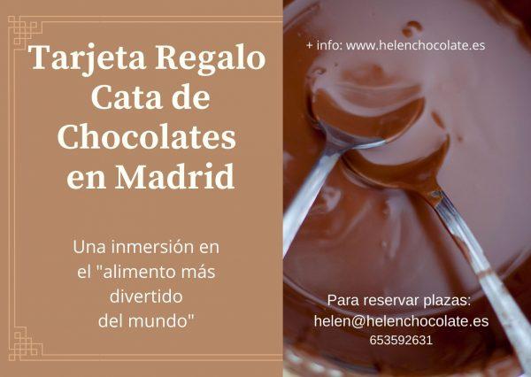 Tarjeta -Regalo - Cata- de- Chocolates