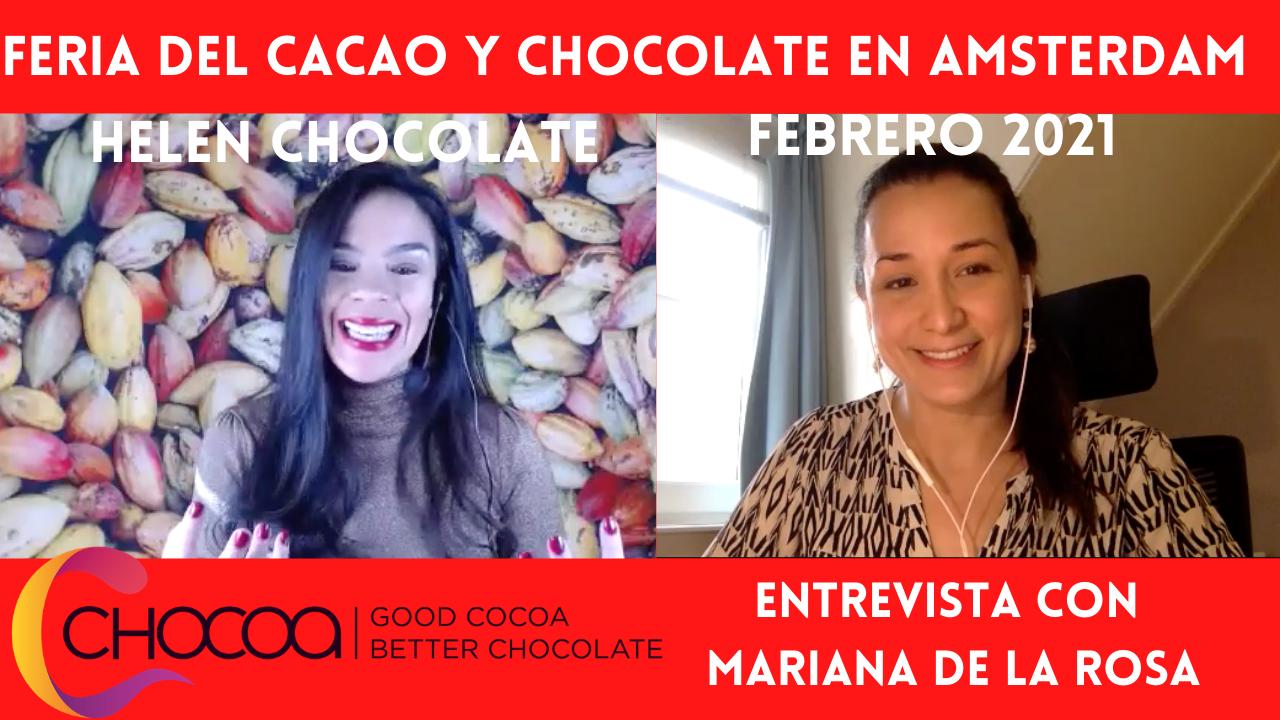 Chocoa 2021 feria Amsterdam